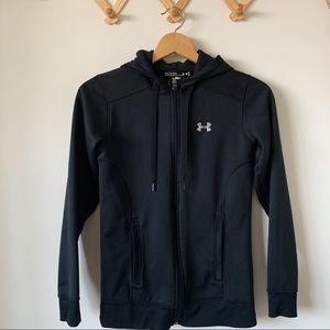 • Under Armour Black Zip Up Sweatshirt •